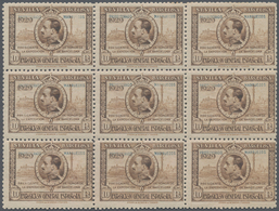 Spanisch-Marokko: 1929, International Exhibitions In Sevilla And Barcelona 10pta. Brown 'King Alonso - Spanisch-Marokko