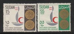 SOUDAN - N°160/1 ** (1963) - Sudan (1954-...)