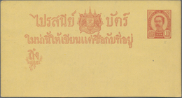 Thailand: 1899/1948, Lot Covers (13) Mint And Mostly Used Stationery (19), Inc. 1894 Unissued Design - Thaïlande