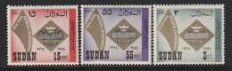 SOUDAN - N°171/3 ** (1964) - Sudan (1954-...)