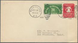 Vereinigte Staaten Von Amerika: 1927/1981 (ca): Approx 310 Better FDC, Mostly From The Twenties And - Vereinigte Staaten