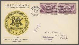 Vereinigte Staaten Von Amerika: 1928/2000, Collection Of More Than 2.000 F.d.c. Well Collected Throu - Vereinigte Staaten
