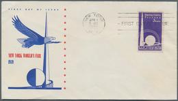 Vereinigte Staaten Von Amerika: 1939, NEW YORK WORLD'S FAIR, Lot Of 51 Only Different FDC Concening - Vereinigte Staaten