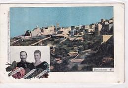 Bethlehem - Zur Erinnerung An Die Kaiserreise - 1899         (A-222-200524) - Palestine