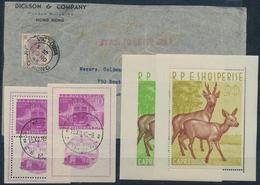 Alle Welt: 1870/1954 (ca.), Kleine Partie Auf Steckkarten Bzw. In Folien Hauptsächlich Vor 1950, Dab - Stamps
