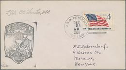 Thematik: Antarktis / Antarctic: 1930/2000, Holding Of More Than 300 U.S. Covers/cards, All Ship-rel - Polarmarken