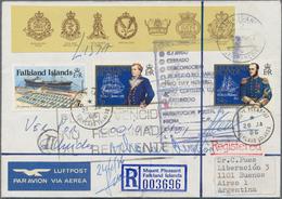 Thematik: Antarktis / Antarctic: 1934/2002, Antarctic+related/Southern Hemsiphere, Sophisticated Hol - Polarmarken
