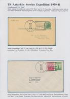 """Thematik: Antarktis / Antarctic: 1939/2000 (ca.), """"Amerikanische Expeditionen Und Postämter In Der A - Polarmarken"""