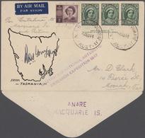 "Thematik: Antarktis / Antarctic: 1947/1954, Australian Antarctic Research ""Heard Island"" And ""Macqua - Polarmarken"