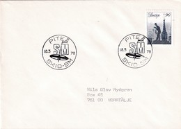 Sweden 1978 Cover: Skid SM Pitea; Skiathlon; Cross Country Skiing; Classic And Skate - Wintersport (Sonstige)