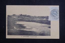 ETHIOPIE - Affranchissement Et Oblitération Plaisants Sur Carte Postale D'Addis Abbeba En 1912 - L 61366 - Etiopía