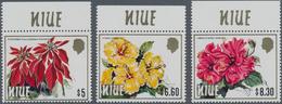 Thematik: Flora, Botanik / Flora, Botany, Bloom: 1984, NIUE: Flowers High Denominated Values $5 Euph - Plants