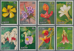 Thematik: Flora, Botanik / Flora, Botany, Bloom: 1984, ZAIRE: Flowers Complete Set Of Eight In A Lot - Plants