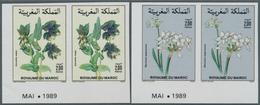 Thematik: Flora, Botanik / Flora, Botany, Bloom: 1989, MOROCCO: Flowers Complete Set Of Two 2.00dh. - Plants