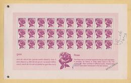 Thematik: Flora, Botanik / Flora, Botany, Bloom: 2000/2002, India. Collection Of 2 Different Complet - Plants