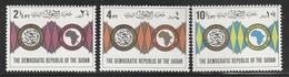 SOUDAN - N°281/3 ** (1975) - Sudan (1954-...)