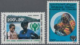 Thematik: Kinder / Children: 1979, COMORES: International Year Of The Child Complete Set Of Two 200+ - Kind & Jugend