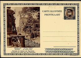 Carte Illustrée Neuve N° 24. Vue 6 :  BRUXELLES - Le Petit Sablon - Stamped Stationery