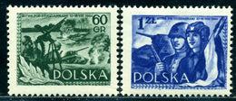 Poland 1954 Battle Of Studzianki,Tank,Machine Gun,Soviet Soldier,Mi.866,MNH - Militaria