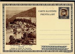 Carte Illustrée Neuve N° 24. Vue 13 :  HUY SUR MEUSE - Panorama - Stamped Stationery