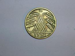 ALEMANIA 10 REICHSPFENNIG 1934 A (1314) - [ 4] 1933-1945 : Tercer Reich