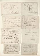 Belgien - Vorphila: BINCHE, 1750/1860 Ca., Very Comprehensive Accumulation Of A Business Corresponde - 1794-1814 (French Period)