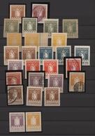 Dänemark - Grönländisches Handelskontor: 1905/1937, Polar Bear Stamps, Mint And Used Collection Of 2 - Groenland