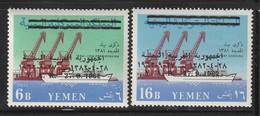YEMEN (Nord) - N°299/300 ** (1963) Surchargé - Yemen