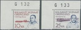 Dänemark - Grönland: 1990, Politicans Complete Set Of Two 10kr. 'Frederik Lynge' And 25kr. 'Augo Tel - Groenland