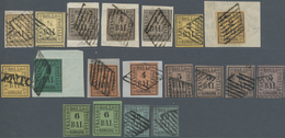 Italien - Altitalienische Staaten: Romagna: 1859, Comprehensive Used And Mint Holding/collection Of - Romagne
