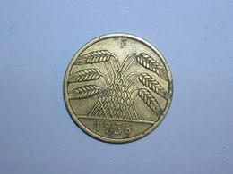 ALEMANIA 10 REICHSPFENNIG 1936 F (1323) - [ 4] 1933-1945 : Tercer Reich