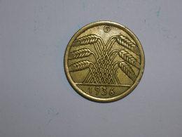 ALEMANIA 10 REICHSPFENNIG 1936 G (1324) - [ 4] 1933-1945 : Tercer Reich