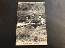 CPA 1900/1920 Les Hautes Vosges Douaniers En Service - France