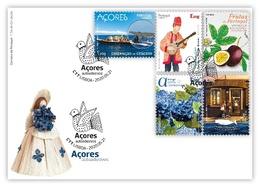 Portugal & FDC Azores, Self Adhesives 2020 (87991) - Sellos