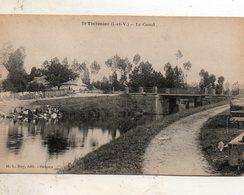 Tinténiac -    Le  Canal. - Other Municipalities