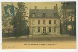 78 - Saint-Nom-la-Brétèche  -  Château De La Ranchère - St. Nom La Breteche