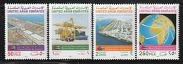 Emirats Arabes Unis - N°408/11 ** (1993) - Ver. Arab. Emirate