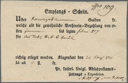 Österreich - Vorphila: 1585 (ab), Sammlung Von Ca. 150 Altbriefen Mit Vielen Interessanten Stempeln, - Österreich