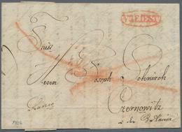 Österreich - Vorphila: 1790/1850 (ca.), Bestand Mit Ca. 90 Meist Faltbriefen Dabei Inter. Teil TRIES - Österreich