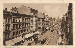 Magdeburg Breiter Weg Old Postcard - Otros