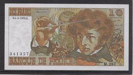 France 10 Francs Berlioz - 4-3-1976 - Fayette N°63-18 - SPL - 1962-1997 ''Francs''