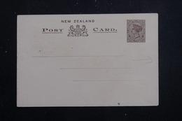 NOUVELLE ZÉLANDE - Entier Postal Type Victoria , Illustration Au Verso De La Nouvelle Zélande  - L 61382 - Briefe U. Dokumente