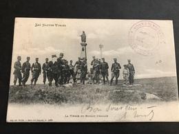 CPA 1900/1920 Les Hautes Vosges La Vierge Du Ballon D'Alsace Militaires Ambulant Bussang à Épinal - France