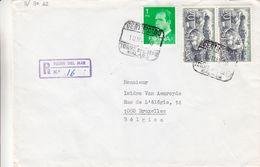 Espagne - Lettre Recom De 1978 - Oblit Torre Del Mar Malaga - 1931-Aujourd'hui: II. République - ....Juan Carlos I