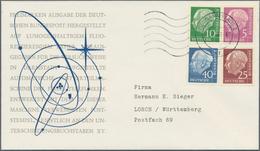 Nachlässe: 1933/2000 (ca.), Nachlass In Zwei Kartons, Darunter Eine Gut Bestückte überwiegend Rundge - Timbres