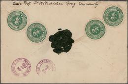 Nachlässe: Alle Welt-Bestand Mit U.a. Grundstock-Sammlung USA, Einigen Kleinmünzen, Ferner Div. Ausg - Timbres