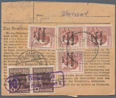 Nachlässe: BELEGE ALLE WELT - Uriger Und Komplett Belassener Schubladenfund Mit Ca. 190 Briefen Und - Timbres