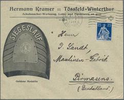 Wunderkartons: 1930-1990, Briefe, Ganzsachen Und Belege, Bunte Mischung Mit Geschätzt über 1000 Exem - Postzegels