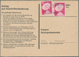 Wunderkartons: 1970/1991 (ca.), Stöberposten Mit überwiegend Neuerem Bund-Material, Darunter U.a. Pa - Postzegels
