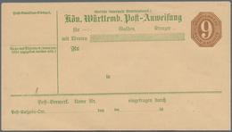 """Wunderkartons: 1865/1985 (ca.), Wunderkiste """"Deutschland Und Alle Welt"""" In Einsteckbüchern, Briefeal - Postzegels"""